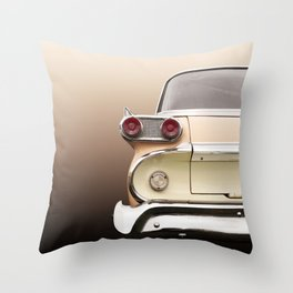 US American classic car 1959 villager station wagon Throw Pillow