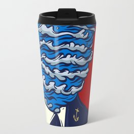 Captain of the Salty Waves Travel Mug