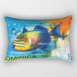 Balistes Bursa Rectangular Pillow