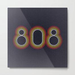 808 Metal Print