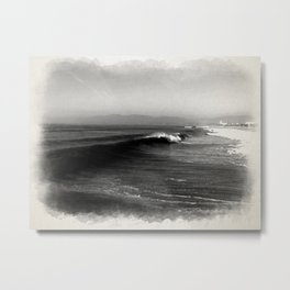 Wave 3 - Venice Beach Metal Print