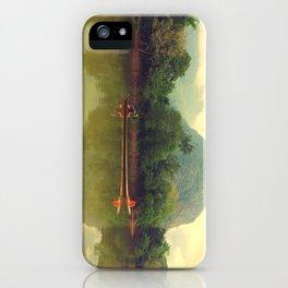 Laos River iPhone Case