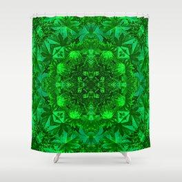 Archangel Raphael Healing Mandala Shower Curtain