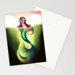 Murky Mermaid Stationery Cards