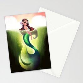 Murky Mermaid Stationery Cards
