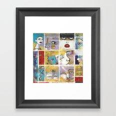 Sguardi di donne su di noi Framed Art Print