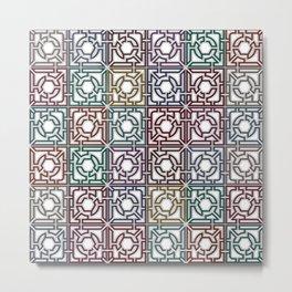 Colorful Maze VI Metal Print