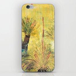 Rustic Grass Tree iPhone Skin
