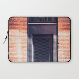 In the Door series, from my street photography collection Laptop Sleeve