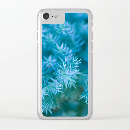 ENCHANTED GREEN #1 #art #society6 Clear iPhone Case