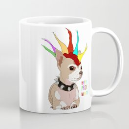 Happy Pride Month-Bad Ass Chihuahua Coffee Mug