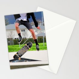 Missed Opportunity  - Skateboarder Stationery Cards