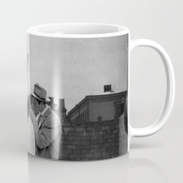Collage Á bout de souffle (Breathless) - Jean-Luc Godard Coffee Mug