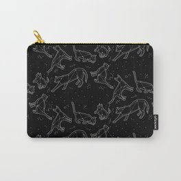 CATSTELLATIONS PRINT #black Carry-All Pouch
