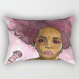 Macy Gray's Greatest Hits Rectangular Pillow