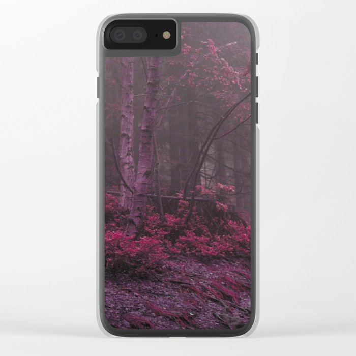 Fantasy Forest #woods Clear iPhone Case