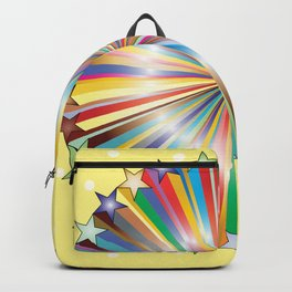 Multi Color Circle of Color Backpack