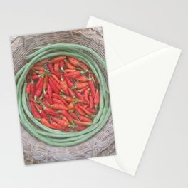 Just Me & My Straw Hat Stationery Cards