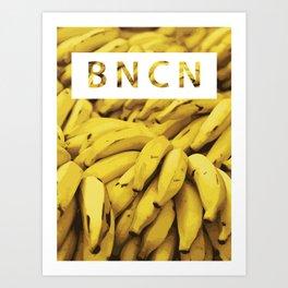 B A N A N A Art Print