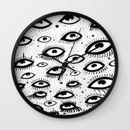 They're Watching Above Wall Clock