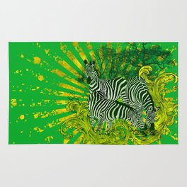 Zebra Safari Rug