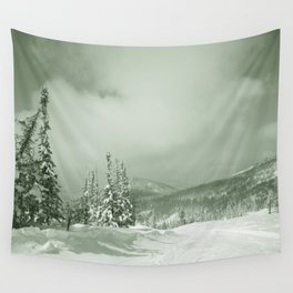 Winter day3 Wall Tapestry