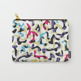 Glass ornate pattern #1. Carry-All Pouch