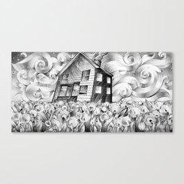 Cool Spring Night Canvas Print