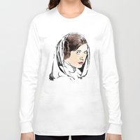 leia Long Sleeve T-shirts featuring Leia by Hey!Roger