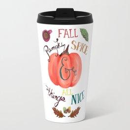 Pumpkin Spice Fall Travel Mug