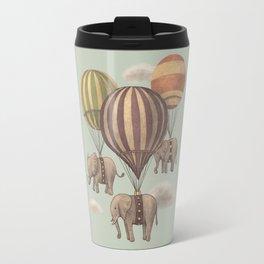 Flight of the Elephants - mint option Travel Mug