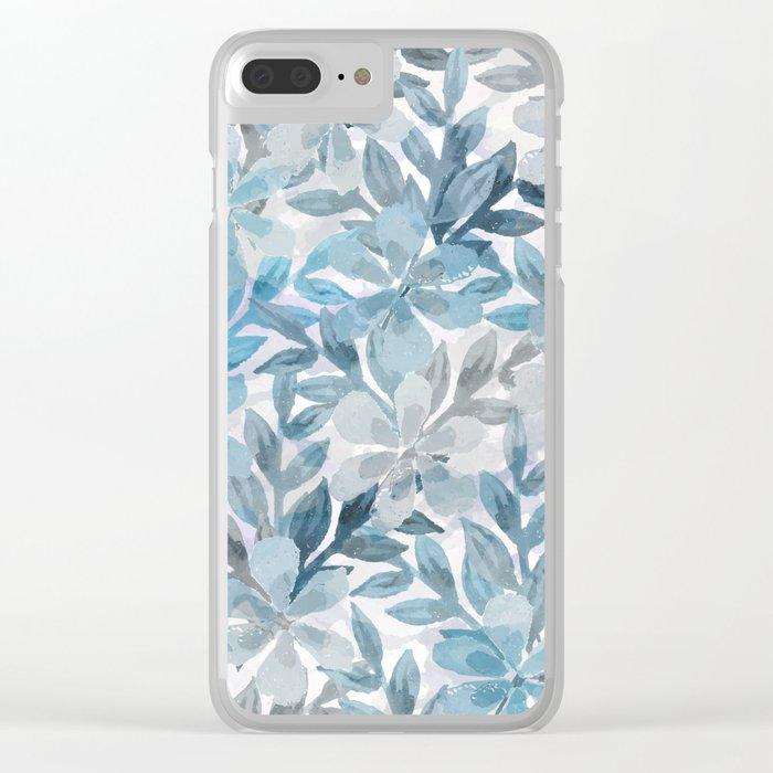 watercolor Botanical garden II Clear iPhone Case