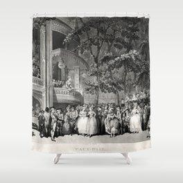 Vauxhall Gardens 1785 Shower Curtain