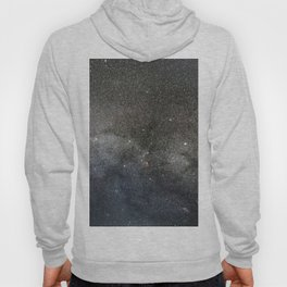 Milky Way, Starry night sky Hoody