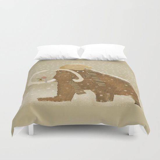 mammoth days  Duvet Cover