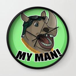 Rocksteady - My Man! Wall Clock