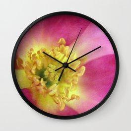 The Last Rose of Summer Wall Clock