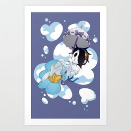 Parasol Isaac Art Print