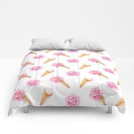 Floral Cones Comforters