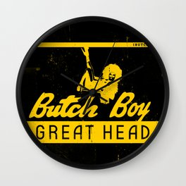 Butch Boy - BQ Wall Clock