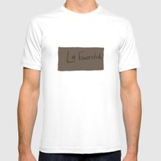 Napoleon White MEDIUM Mens Fitted Tee