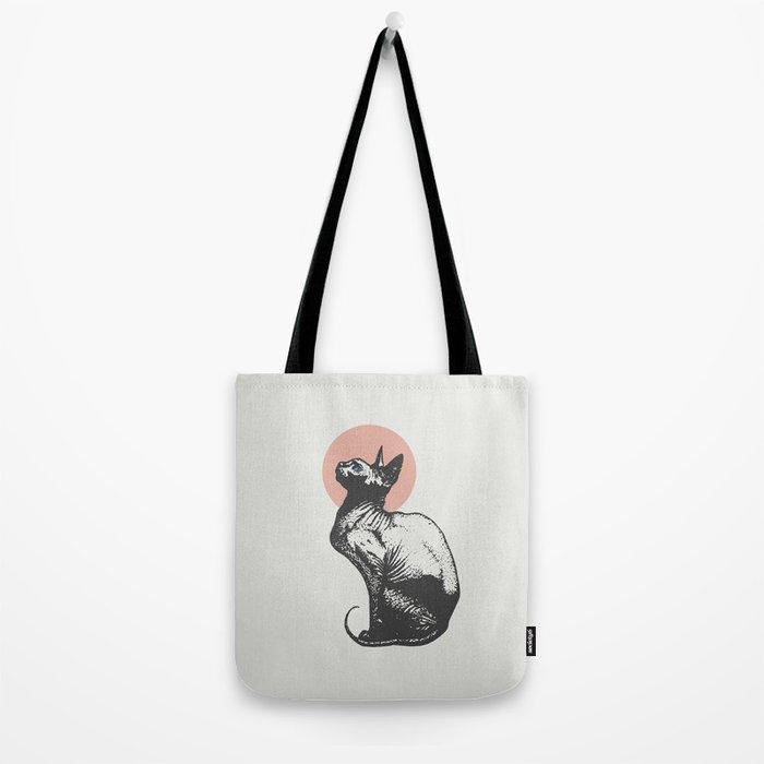 Sphynx Tote Bag