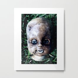 Broken Metal Print