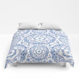 Blue Rhapsody Comforters