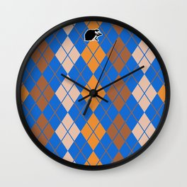 Shinbone's Blue Dress 4 Wall Clock