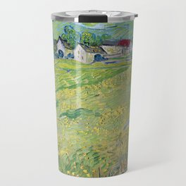 """Les Vessenots"" in Auvers by Vincent van Gogh Travel Mug"