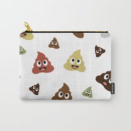 smiling pile of poop emoji Carry-All Pouch