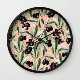 Sour Grapes | Wall Clock