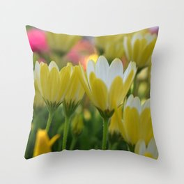 May Flowers For Mom Throw Pillow