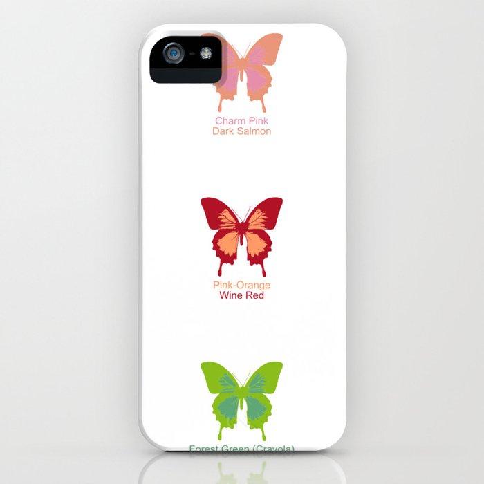 Butterflies 9 iPhone Case